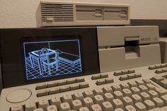 Hp Computers, Desktop Computers, Computer Terminal, Retro Arcade Machine, Vaporwave Art, Old Technology, Tape Recorder, Data Recovery, Old Tv