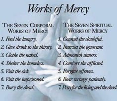 Corporal & Spiritual Work of Mercy