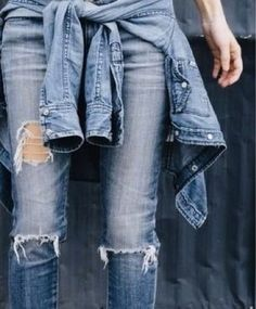 whisper blog: destroyed jeans @whisperbysara