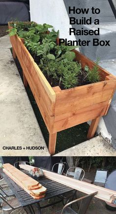 Raised Garden Beds Discover How to Build a Raised Planter Box We built a raised planter box to introduce our son to the responsibilities of tending a garden and enjoying the fruits of his labor.