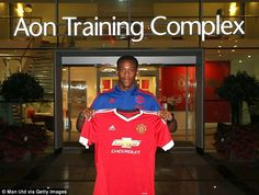 Anthony Martial cost Manchester United £36million on deadline day 2015 having joined from Monaco