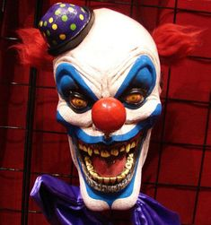 Evil clown face ideas