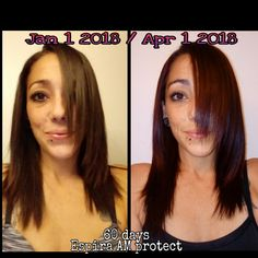 60 days into Espira AM Protect supplements and I LOVE the results. Thicker,  Less Breakage, and length!! BOTH of my chest tattoos are now fully covered and after ONLY 2 months. http://go.youravon.com/z9kbm #healthyhair #Hairandnails #Espira #Length #Hairgrowth #Fuller #Beautifulhair #Haircare #Avon #ShesSoVain