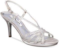 Nina Bobbie Slingback Evening Sandals #bridalshoes #wedding