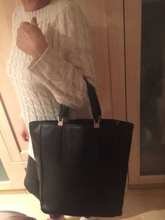 #Black zara carryall handbag #business #attire must rrp £40,  View more on the LINK: http://www.zeppy.io/product/gb/2/252348915158/