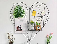 Iron grid photo wall decoration heart-shaped modern minim... https://www.amazon.co.uk/dp/B079DVNYV2/ref=cm_sw_r_pi_dp_U_x_Av8YAbHFMHNHX