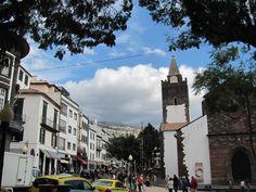 In der City von Funchal.