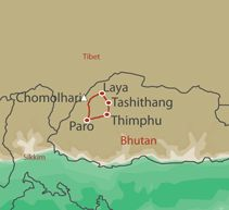 Trekking in Bhutan   Laya Trek   Bhutan High Trails Trekking Holiday