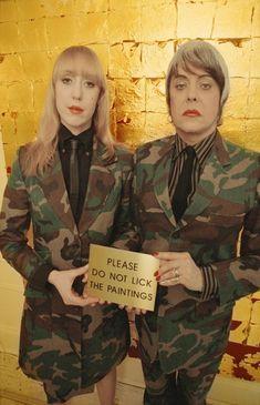 Glenn and Genesis P - Orridge 'Are We Really Here?'
