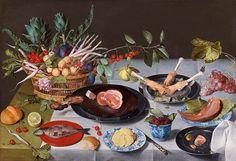 A Still Life by Jacob van Hulsdonck - New Potatoes Minus the Skins, a Playlist - The Gourmand