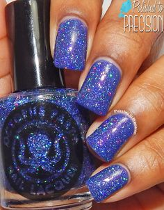 Octopus Party Nail Lacquer Laser Tag