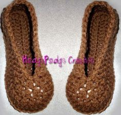 crochet slippers -Nikki Marshall when you learn I want this pair. Thst is all.