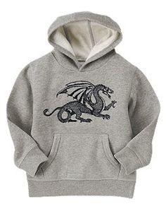 Cool hoodie.