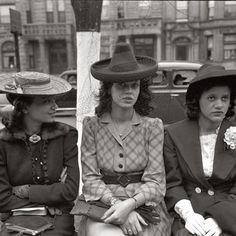 The hat ladies. 1941, Southside Chicago.
