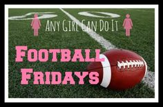 Football Fridays with Any Girl Can Do It http://www.anygirlcandoit.com/2014/08/football-series-draft/?utm_campaign=coschedule&utm_source=pinterest&utm_medium=Stacy%20%7BAny%20Girl%20Can%20Do%20It%7D%20(Any%20Girl%20Can%20Do%20It%20-%20Girl%20DIY)&utm_content=Football%20Fridays%20with%20Any%20Girl%20Can%20Do%20It