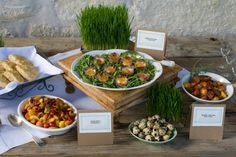 Brunch Food Display from Cartewheels Caterers