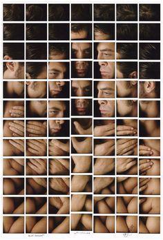 maurizio galimberti mosaics polaroid portrait compositions - designboom   architecture  design magazine
