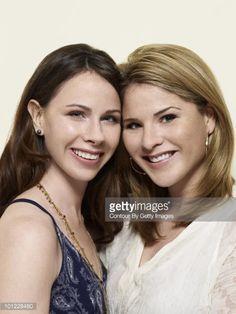 Sisters Barbara Pierce Bush and Jenna Bush Hager. President Bush's twin daughters.