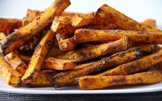 Recipe: Sweet Potato Superfood Flax Fries