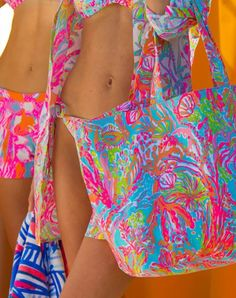Brighten your beach days with Lilly Pulitzer