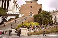 Basilica of St. Mary of the Altar of Heaven Basilica di Santa Maria in Ara coeli, Rome.