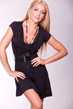 Cute Black Dress for a fun evening out on the town!