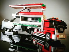 Lego pizzatruck all custommade by Timberdale Creations