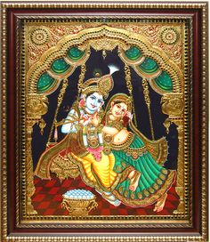 Decoration items for home - Buy latest collections of Statues, Sculptures, Paintings, Wind chimes & Ethnic wall clocks at best prices from Raga Arts Cute Krishna, Krishna Art, Radhe Krishna, Krishna Lila, Hanuman, Lord Krishna, Ganesha Painting, Tanjore Painting, Traditional Paintings