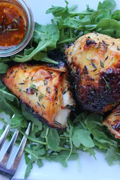 Roasted Chicken with Honey & Aleppo Pepper| Image:Laura Messersmith