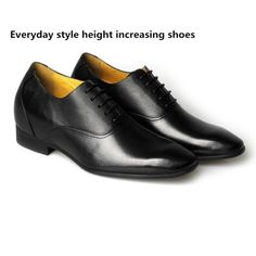 everyday style elevator formal shoes