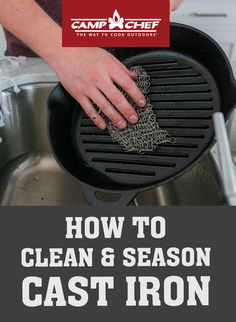 Iron Skillet Recipes, Cast Iron Recipes, Cast Iron Skillet, Cast Iron Cooking, Household Cleaning Tips, House Cleaning Tips, Diy Cleaning Products, Cleaning Cast Iron Pans, Iron Cleaner