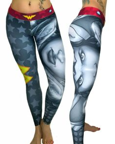 S2 Activewear - Ash Wonder Woman Leggings Everyone loves the superhero, Wonder Woman from the Justice League of the DC Comics universe! These super colorful and fun leggings fit great, last forever and will make your friends jealous! https://ronitaylorfitness.com/collections/s2-activewear/products/wonderwoman-leggings-ash