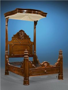 Castle Victorian Bed Design Ideas For Gothic Room Gothic Room, Victorian Bedroom, Victorian Furniture, Victorian Decor, Victorian Homes, Antique Furniture, Medieval Bedroom, Furniture Styles, Furniture Decor