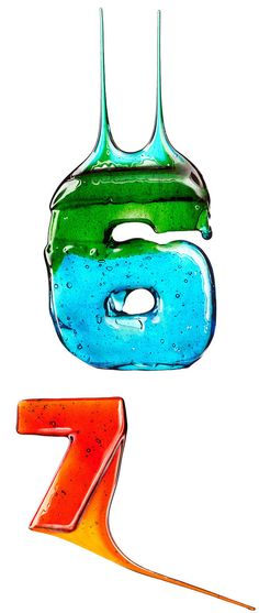 Colourful Candy Numbers by Massimo Gammacurta
