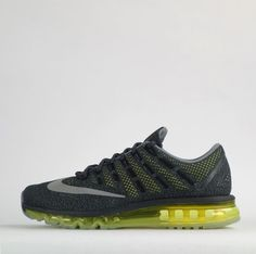 Nike Air Max 2016 Mens Running Trainers Shoes Anthracite #Nike