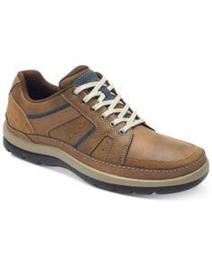 Rockport Men's Get Your Kicks Mudguard Blucher Casual Shoes - Tan/Beige 11.5W