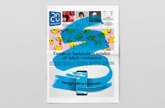 It's Nice That   Studio Feixen redesigns Switzerland newspaper 20 Minuten for one day, to a mixed response