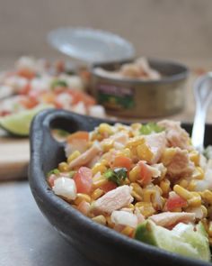 Summer is back and so too are those amazingly sweet earns of corn that make us all want to fire up the grill and soak up the sun. My recipe for Grilled Corn and Tuna Southwest Salad is the perfect solution to leftover corn. Summer Recipes, Easy Dinner Recipes, Easy Meals, Easy Recipes, Tuna Dishes, Southwest Salad, Slow Cooker Soup, Tuna Salad, Weeknight Meals