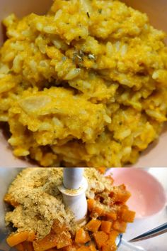 Vegan and gluten free, all in less than 30 minutes! Stock Cubes, Butternut Squash Risotto, Blogger Lifestyle, Glutenfree, Easy Meals, Vegan, Breakfast, Ethnic Recipes, Food