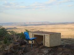 The famous Desk on Hancock Hill - Alpine, TX: