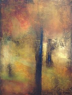 Unearthed by Chris Foster Acrylic on Canvas 48 in x 36 in