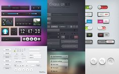 A fresh collection of Free UI Kits & elements for download.
