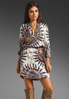 ANTIK BATIK Dotha Djellabah Dress in Cream at Revolve Clothing - Free Shipping!