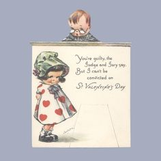 Twelvetrees postcards   You're guilty, the Judge and Jury say, But I can't be convicted on St ...