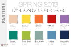 Spring 2013 Pantone Color Report