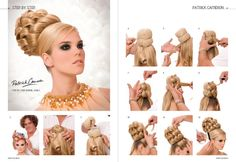 Hair_nail_mode_en_Beauty: Patrick Cameron: opsteekkapsel.