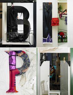 Alphabet Photography; Bela Borsodi