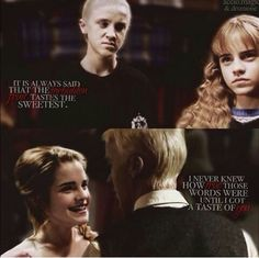 This is the most interesting non-canonical relationship in history Harry Potter Puns, Harry Potter Feels, Harry Potter Ships, Harry Potter Actors, Harry James Potter, Draco And Hermione, Harry Potter Draco Malfoy, Hermione Granger, Dramione