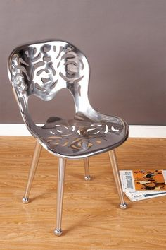 Aluminum Chair by Statements by J