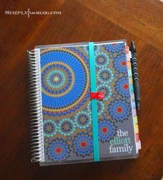 Simply Free: Erin Condren Custom Address Book {Review} #ecbloggers #fabfans